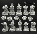 Egyptian SF Warriors 5 miniatures set (5)