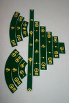 Gaming Rulers - Set - Mandalorian Green