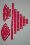 Gaming Rulers - Set - Rebel Dark Pink