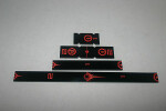 Gaming Rulers - Short Range - First Order