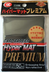 KMC Sleeves: HYPER MAT Black Premium (50)
