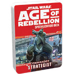 Age of Rebellion Specialization Deck: Commander - Strategist
