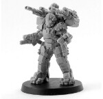 Republic Fire Support Pulse Mech - Autocannons