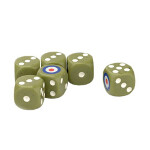 Tanks Dice Set: British