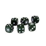 Tanks Dice Set: US