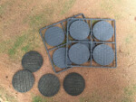 Paved Effect Bases: 60mm Diameter