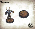 Malifaux Hoffman Lab base tops - 40mm (2 units)