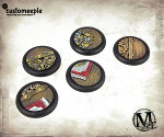 Malifaux Hoffman Lab base tops - 30mm (5 units)