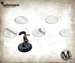 Malifaux Streets base tops - 30mm (5 base tops)