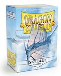 Dragon Shield 100 Box - Matte Sky Blue