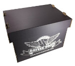 Large Stacker Box Standard Load Out (Stone Black)