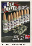 Team Yankee British Paint Set (TYP193)