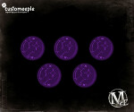 Malifaux Brilliance Markers - Blue Fluor