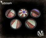 Malifaux Circus Ring base tops - 30mm (5)