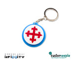 Infinity Keyring - PanOceania: Knights of Montesa