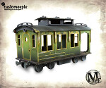 Malifaux Train wagon (Passenger)