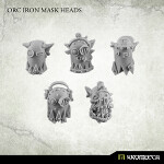 Orc Iron Mask Heads (10)