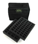 P.A.C.K. C4 Bag 2.0 - 2x 1.5 inch Troop Foam Tray (Black)
