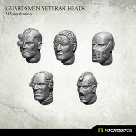Guardsmen Veteran Heads (10)
