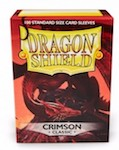 Dragon Shield 100 Box - Crimson