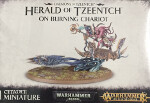 Daemons of Tzeentch: Herald of Tzeentch on Burning Chariot
