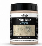 Weathering Effects 200ml - Light Brown Thick Mud