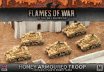 Desert Rats Honey Armoured Troop (BBX32)