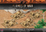 Desert Rats 25pdr Field Troop (BBX33)