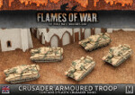 Desert Rats Crusader Armoured Troop (BBX39)