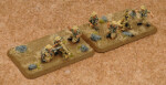 Desert Rats HMG Platoon & Mortar Section (BR754)
