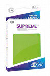 Ultimate Guard Supreme UX Sleeves Standard Size: Light Green (80)