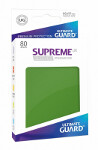 Ultimate Guard Supreme UX Sleeves Standard Size: Green (80)