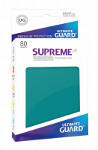 Ultimate Guard Supreme UX Sleeves Standard Size: Petrol Blue (80)