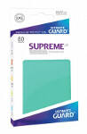 Ultimate Guard Supreme UX Sleeves Standard Size: Turquoise (80)