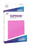 Ultimate Guard Supreme UX Sleeves Standard Size: Pink (80)