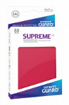 Ultimate Guard Supreme UX Sleeves Standard Size: Red (80)