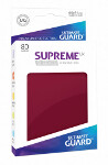 Ultimate Guard Supreme UX Sleeves Standard Size: Burgundy (80)