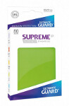 Ultimate Guard Supreme UX Sleeves Standard Size: Matte Light Green (80)