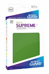 Ultimate Guard Supreme UX Sleeves Standard Size: Matte Green (80)