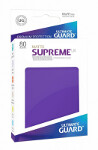Ultimate Guard Supreme UX Sleeves Standard Size: Matte Purple (80)