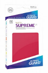 Ultimate Guard Supreme UX Sleeves Standard Size: Matte Red (80)