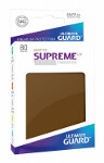 Ultimate Guard Supreme UX Sleeves Standard Size: Matte Brown (80)
