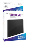 Ultimate Guard Supreme UX Sleeves Japanese Size: Matte Black (60)