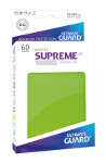 Ultimate Guard Supreme UX Sleeves Japanese Size: Matte Light Green (60)