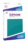 Ultimate Guard Supreme UX Sleeves Japanese Size: Matte Petrol Blue (60)