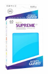 Ultimate Guard Supreme UX Sleeves Japanese Size: Matte Light Blue (60)
