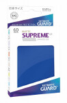 Ultimate Guard Supreme UX Sleeves Japanese Size: Matte Blue (60)
