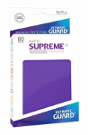 Ultimate Guard Supreme UX Sleeves Japanese Size: Matte Purple (60)