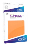Ultimate Guard Supreme UX Sleeves Japanese Size: Matte Orange (60)