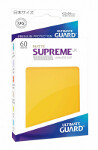 Ultimate Guard Supreme UX Sleeves Japanese Size: Matte Yellow (60)